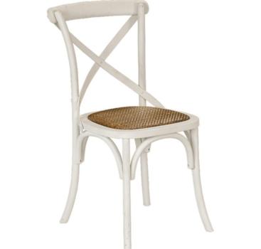 White X-back Chair